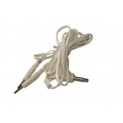 3,5 mm leadwire to 2mm Erostek, E-Stim Systems, Folsom, E-Play en PES.