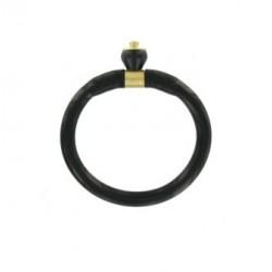 Electrodo tubular de medio anillo