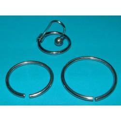 Bouchon de sperme avec anneaux supplémentaires