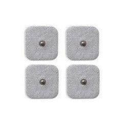 Square 40mm Snap self adhessive pads set of 4 pcs.