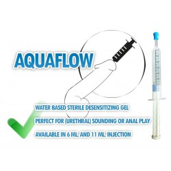 AquaFlow Injectable Desensitizing Urethral | Anal Gel 11 ml.