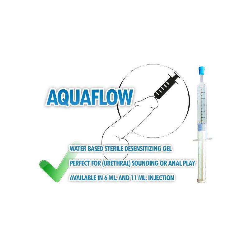 AquaFlow Injectable Desensitizing Urethral   Anal Gel 11 ml.